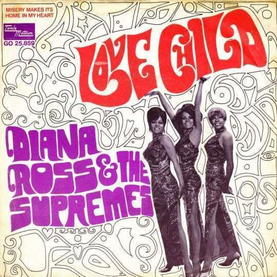 Coverafbeelding Love Child - Diana Ross & The Supremes