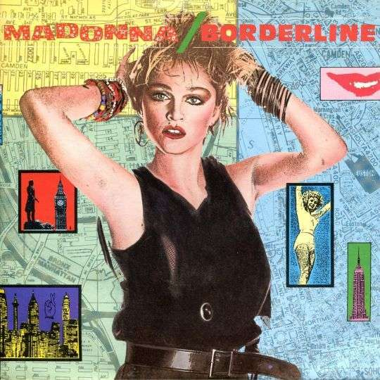 Coverafbeelding Madonna - Borderline