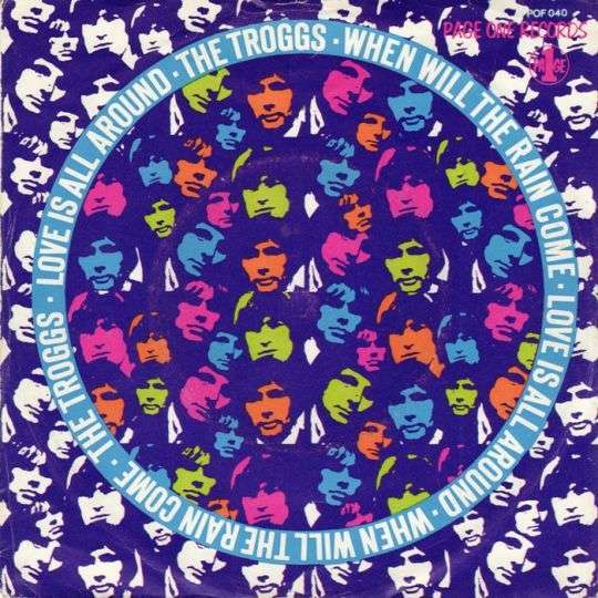 Coverafbeelding Love Is All Around - The Troggs