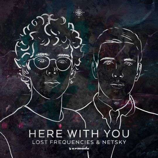 Coverafbeelding Here With You - Lost Frequencies & Netsky