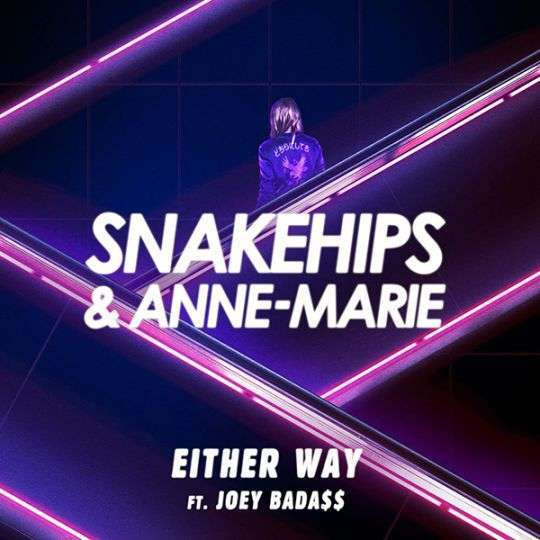 Coverafbeelding Either Way - Snakehips & Anne-Marie Ft. Joey Bada$$