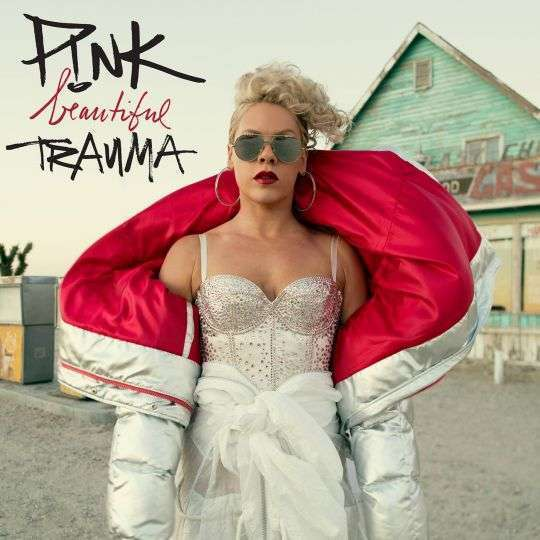 Coverafbeelding Beautiful Trauma - P!nk