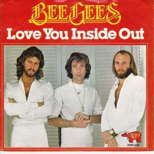 Coverafbeelding Love You Inside Out - Bee Gees