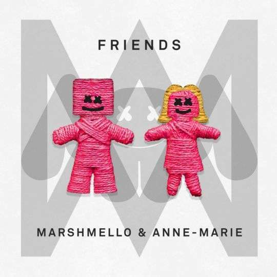Coverafbeelding Friends - Marshmello & Anne-Marie