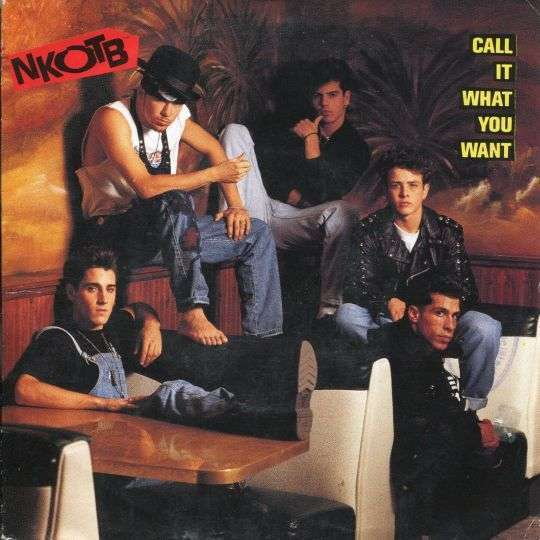 Coverafbeelding Call It What You Want - Nkotb