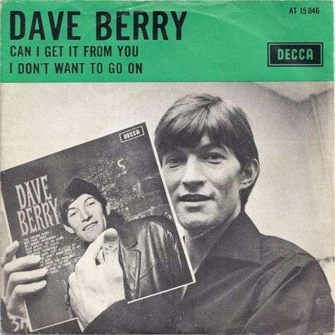 Coverafbeelding Can I Get It From You - Dave Berry