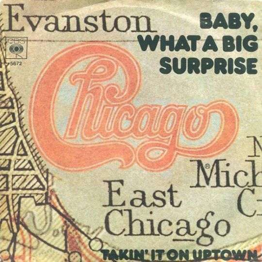 Coverafbeelding Chicago - Baby, What A Big Surprise