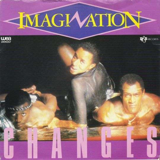 Coverafbeelding Imagination - Changes
