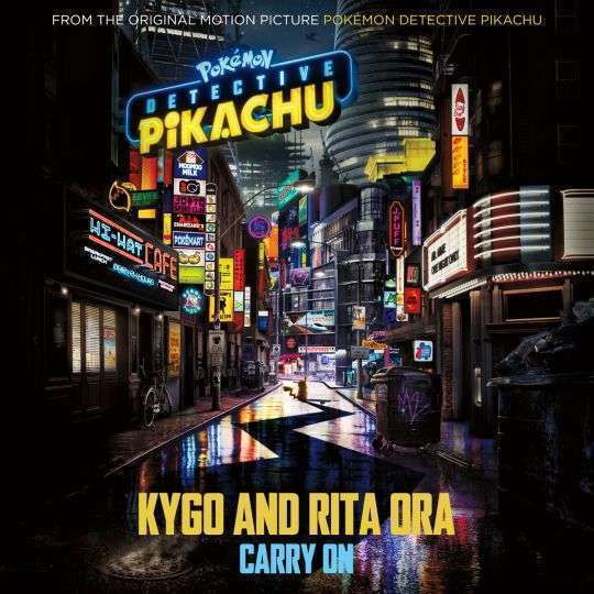 Coverafbeelding Carry On - Kygo And Rita Ora