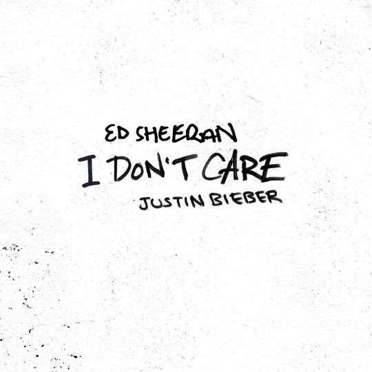 Coverafbeelding I Don't Care - Ed Sheeran & Justin Bieber