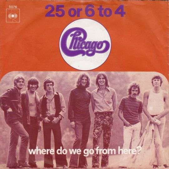 Coverafbeelding 25 Or 6 To 4 - Chicago