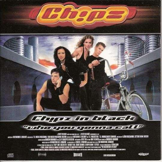 """Coverafbeelding Ch!pz - Ch!pz In Black """"Who You Gonna Call"""""""