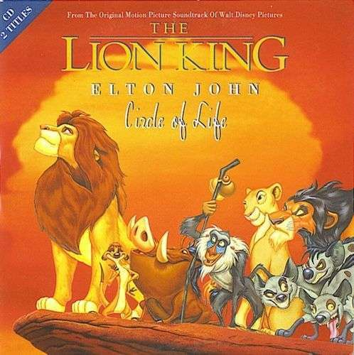 Coverafbeelding Circle Of Life - Elton John