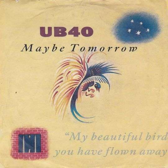 Coverafbeelding Maybe Tomorrow - Ub40