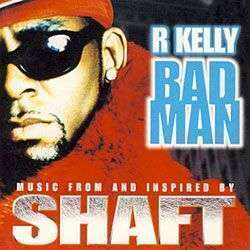 Coverafbeelding Bad Man - R. Kelly