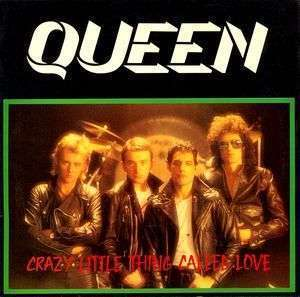 Coverafbeelding Crazy Little Thing Called Love - Queen