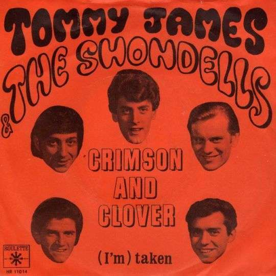 Coverafbeelding Crimson And Clover - Tommy James & The Shondells