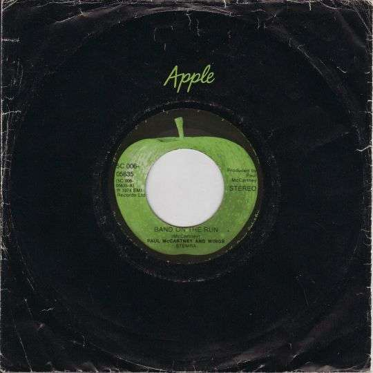 Coverafbeelding Band On The Run - Paul Mccartney And Wings