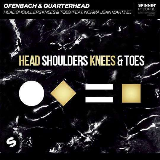 Coverafbeelding Head Shoulders Knees & Toes - Ofenbach & Quarterhead (Feat. Norma Jean Martine)