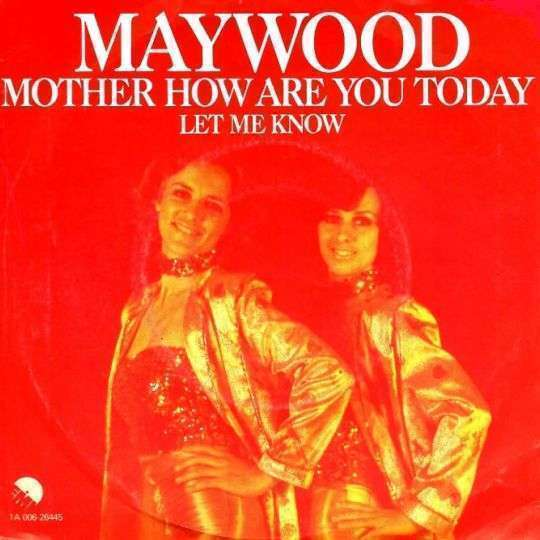 Coverafbeelding Mother How Are You Today - Maywood