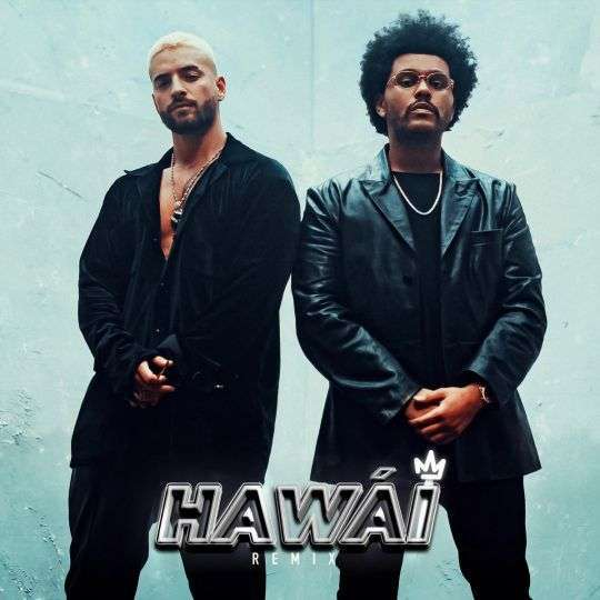 Coverafbeelding Maluma & The Weeknd - Hawái - Remix
