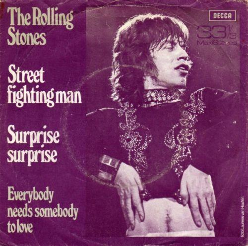 Coverafbeelding Street Fighting Man [33⅓ Maxistereo] - The Rolling Stones