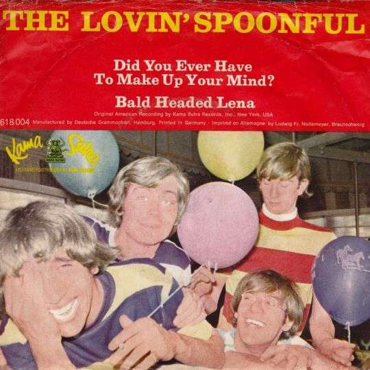 Coverafbeelding Did You Ever Have To Make Up Your Mind? - The Lovin' Spoonful