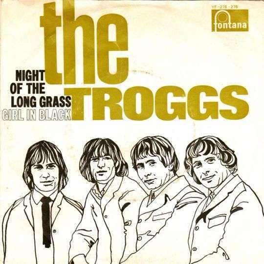 Coverafbeelding Night Of The Long Grass - The Troggs