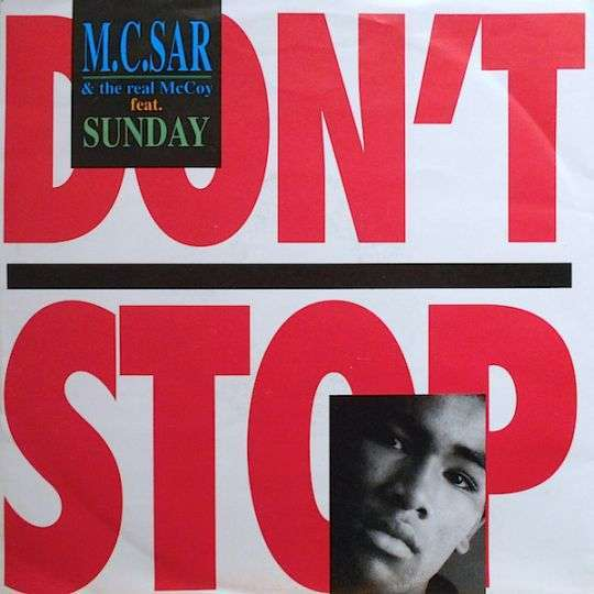 Coverafbeelding Don't Stop - M.c.sar & The Real Mccoy Feat. Sunday