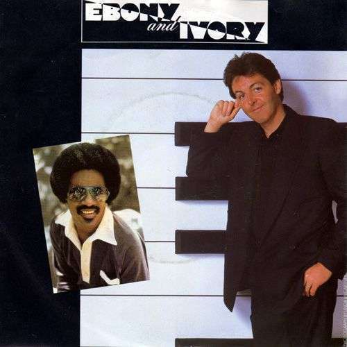 Coverafbeelding Ebony And Ivory - Paul Mccartney - Additional Vocals By Stevie Wonder