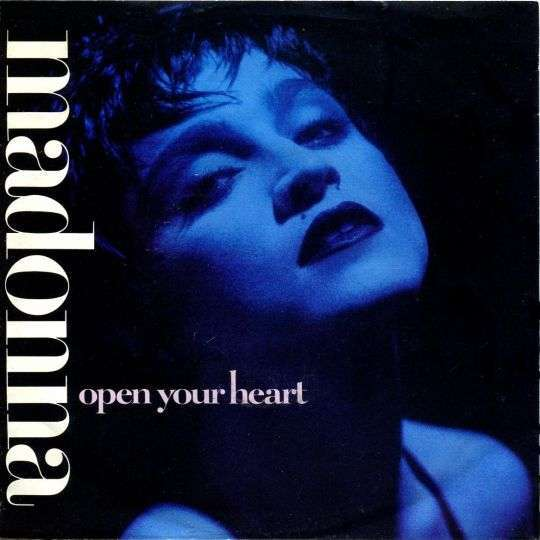 Coverafbeelding Open Your Heart - Madonna