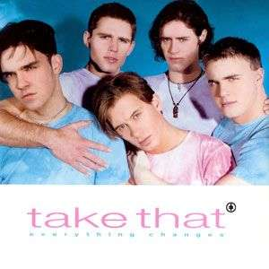 Coverafbeelding Everything Changes - Take That