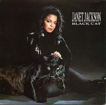 Coverafbeelding Janet Jackson - Black Cat