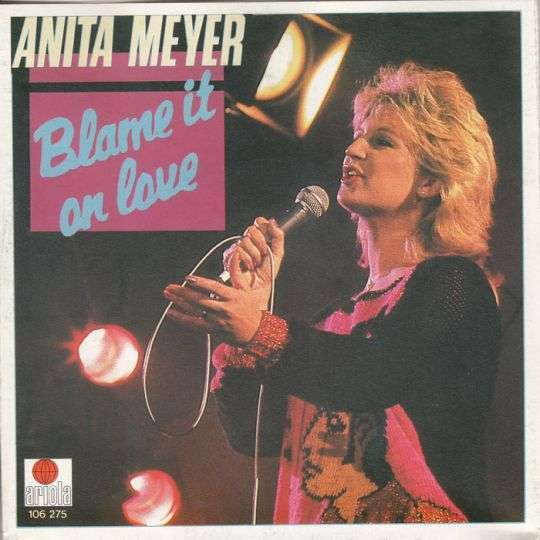 Coverafbeelding Blame It On Love - Anita Meyer