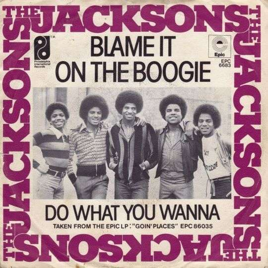 Coverafbeelding Blame It On The Boogie - The Jacksons
