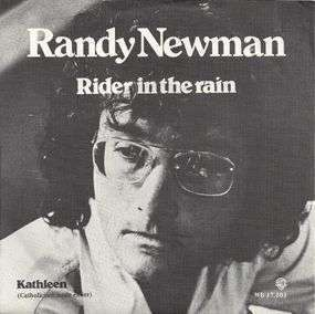 Coverafbeelding Rider In The Rain - Randy Newman