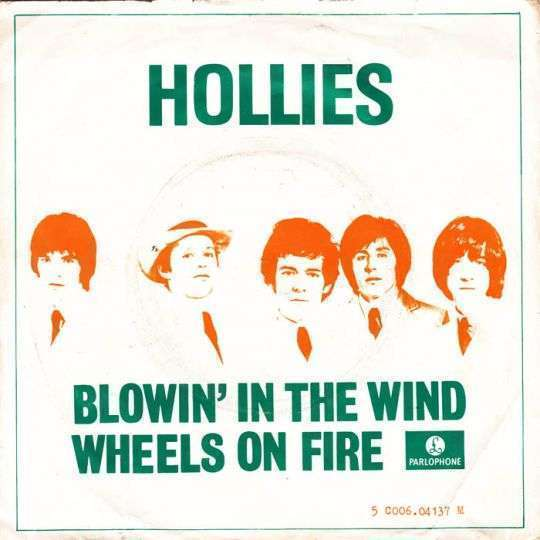 Coverafbeelding Blowin' In The Wind - Hollies