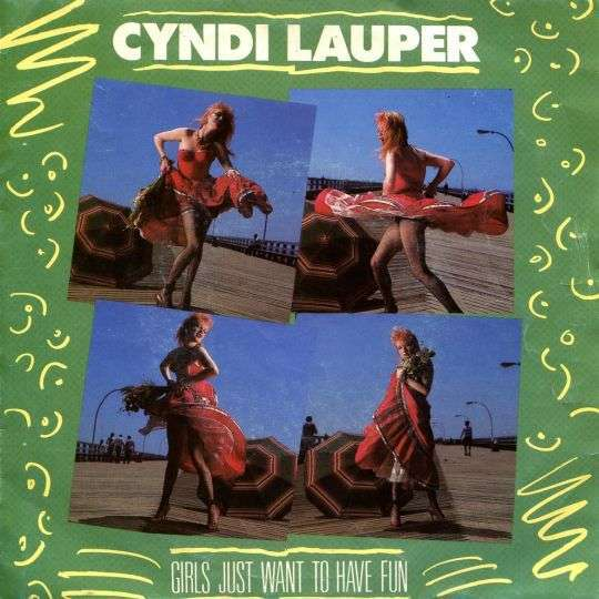 Coverafbeelding Cyndi Lauper - Girls Just Want To Have Fun