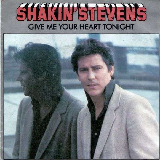 Coverafbeelding Shakin' Stevens - Give Me Your Heart Tonight