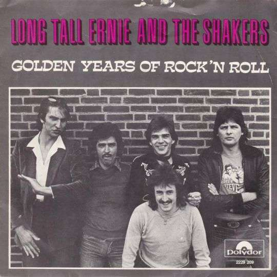 Coverafbeelding Golden Years Of Rock 'n Roll - Long Tall Ernie And The Shakers