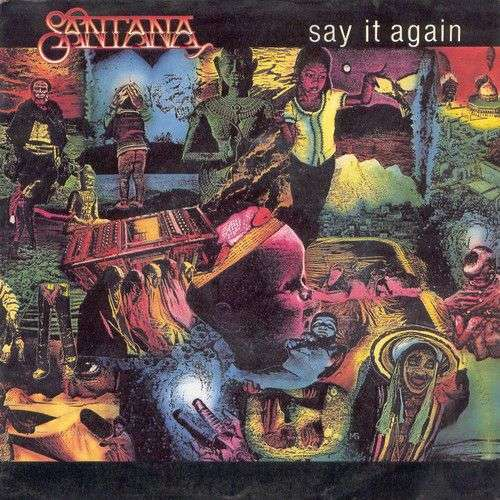 Coverafbeelding Say It Again - Santana