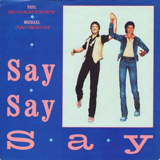 Coverafbeelding Say Say Say - Paul Mccartney & Michael Jackson