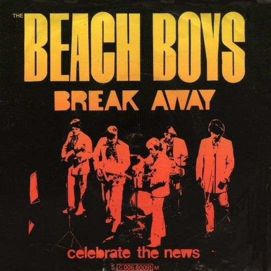 Coverafbeelding Break Away - The Beach Boys