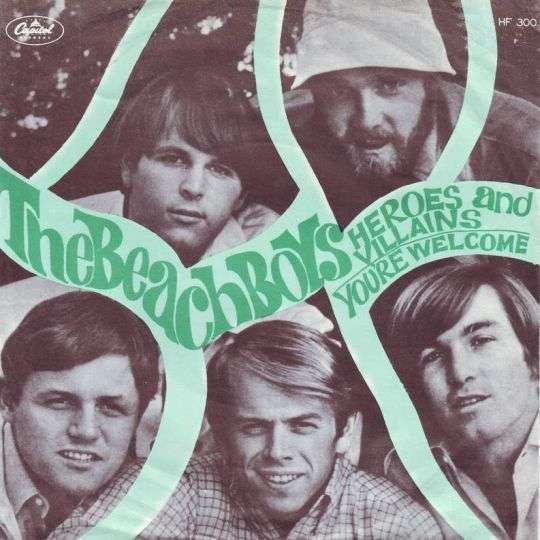 Coverafbeelding Heroes And Villains - The Beach Boys