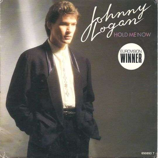 Coverafbeelding Hold Me Now - Johnny Logan