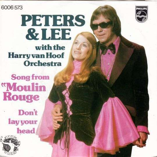 """Coverafbeelding Song From """"moulin Rouge"""" - Peters & Lee With The Harry Van Hoof Orchestra"""