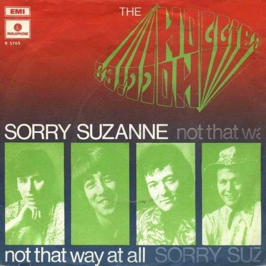 Coverafbeelding Sorry Suzanne - The Hollies