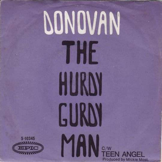 Coverafbeelding The Hurdy Gurdy Man - Donovan