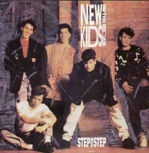 Coverafbeelding New Kids On The Block - Step By Step