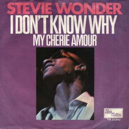 Coverafbeelding I Don't Know Why - Stevie Wonder